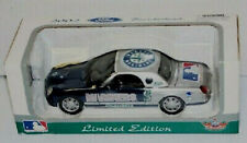 CASE 4 LOT SEATTLE MARINERS DIECAST 1:24 SCALE FORD THUUNDERBIRD CAR WHITE ROSE