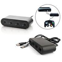 4-Port GC Gamecube Controller to USB Adapter Converter For Nintendo Wii U PC NGC