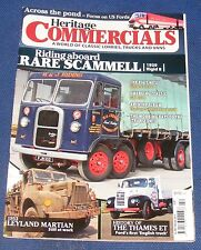 HERITAGE COMMERCIALS  FEBRUARY 2014 - RIDING ABOARD RARE SCAMMELL