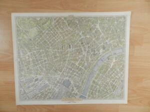 Bollmann Bildplan Stadtplan  Frankfurt am Main 1968