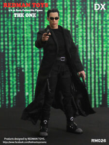 REDMAN TOYS 1/6 The Matrix Neo The One Keanu Reeves Figure RM026 iminime Hot