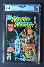 WONDER WOMAN #274 ORIGIN 1st Deborah Domaine CHEETAH 1980 Wiig MOVIE-2 CGC 9.4