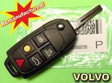 Remanufactured Key Genuine Remote Control Transmitter Volvo 8688799