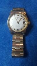 Vintage Men's Omega Seamaster Watch – Runs Great, Gold Tone