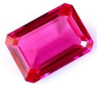 AAA Natural Burmese Pink-Red Ruby 45.00 CT Certified EYE-CATCHY Emerald Gemstone
