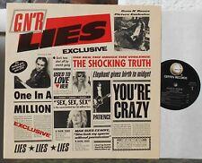 GUNS N' ROSES - Lies. Live Like A Suicide  Lp 1988