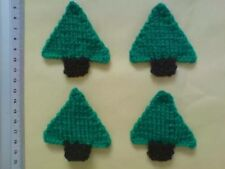 Christmas Trees Card Making / Scrapbook paper craft embellishments Toppers