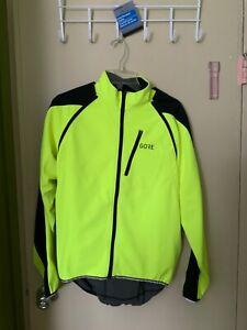 GORE WEAR Womens Gore Bike Wear Phantom 2.0 Wind Stopper Soft Shell Jacket-Neon Yellow//Black Size 36