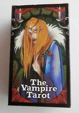 THE VAMPIRE TAROT - By Nathalie Hertz - 78 cards & instruction booklet - MINT