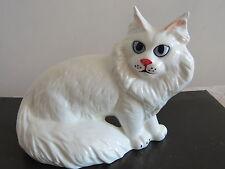 Siberian cat  porcelain figurine,Russian Souvenir Art,author signed