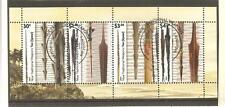 2015   NIUE  - TRADITIONAL WEAPONS - MINISHEET - USED