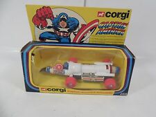 VINTAGE CORGI MARVEL COMICS CAPTAIN AMERICA JETMOBILE 263 DIE-CAST CAR MIB 1979