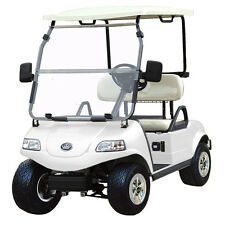New 2020 White Evolution EV Golf Cart Car Classic 2 Passenger seat 48v WARRANTY