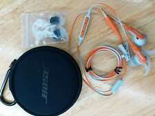 Genuine Bose SoundSport Wired In-Ear Headphones - Apple Devices Power Orange