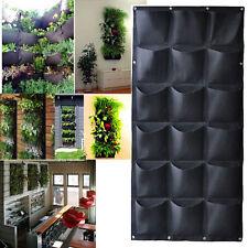 18 Pocket Hanging Vertical Garden Planter Indoor / outdoor Decoration Herb Pot