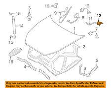 JAGUAR OEM 97-06 XK8 Hood-Release Lever Handle HNC2561AC