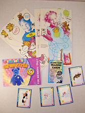 9c81bb63fe3 Vtg LOT BEANIE BABIES Trading Cards Mcdonalds Happy Meal Bags Member  Newsletter