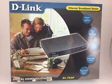 D-Link Ethernet Broadband Router 4-Port Ethernet Switch