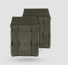 New Crye Precision JPC Side Plate Pouch Set 6x6  Ranger Green
