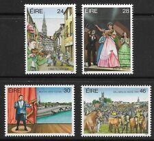 STAMPS-IRELAND. 1987. Irish Festivals Set. SG: 673/76. Mint Never Hinged.