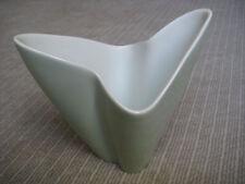 ROSENTHAL Vase STANGL Drei zack seladon 1950 50er vintage museal SELB eck rar