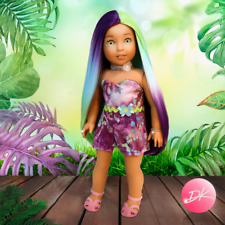 American Girl doll Amazonia Premium wig Fits most 18'dolls Blythe Og