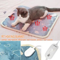 20W Electric Waterproof Pet Heating Pad Cat Dog Mat Warm Blanket