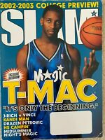 Vintage SLAM Magazine Issue 64 Tracy McGrady Cover Feb 2002 Basketball Adidas