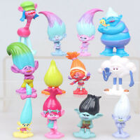 Trolls Cake Toppers set of 12 pcs action Figures Doll Toy Kids Gift Xmas Gift