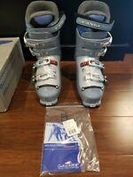 New old stock Vintage 1999 Ski Boots 25.5 Lange Avian Blue