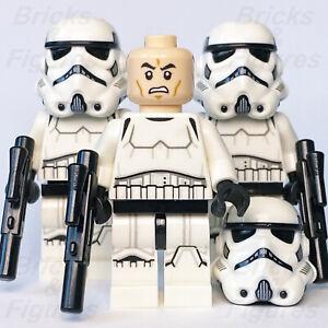 3 x Star Wars LEGO® Imperial Stormtrooper Minifigure 75229 75262 75235 Genuine