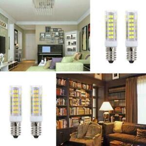 2x E14 7W LED Light Bulbs Kitchen Range Hood Chimmey Warm UK Cooker White T3R1