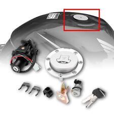 Ignition Switch Lock Gas Cap Seat Lock Key Set for Honda CBR600 F4 F4I 2001-2006
