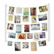 Umbra HANGIT PHOTO DISPLAY - Multi Photo Frame MEMO HOLDER - Hang It - WHITE