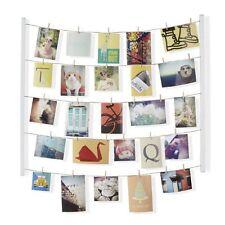 Umbra HANGIT PHOTO DISPLAY - Multi Photo Frame MEMO HOLDER - Hang It - WHITE