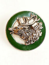 German Bavarian - Oktoberfest Hunter Jaeger Austria - HIRSCH or STAG - Hat Pin