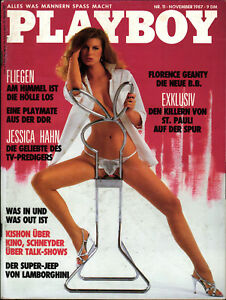 PLAYBOY D 11/1987 November - Florence Geanty + Jessica Hahn + DDR-Playmate