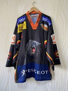 SC BERN 2010 2011 ICE HOCKEY SHIRT JERSEY INTERHOCKEY sz XXL BLACK