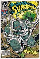 DEATH OF SUPERMAN MASTER COMIC SET NM DOOMSDAY SUPERMAN #75, MAN OF STEEL #18
