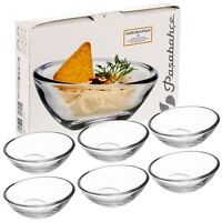 6x Glass Serving Bowl Dish Dessert Dips Spreads Sweets Snack Appetizer Gift Set