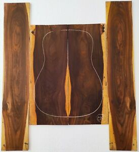Cocobolo Rosewood Back and Side Acoustic Guitar Set C14 | Quality Luthier Supply