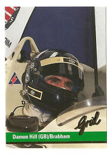 F1 Card | Damon Hill | Brabham | Formula 1 Racing