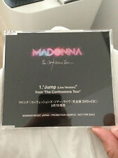 Madonna Madame X Confessions Tour Jump Live Japan limited edition promo cd