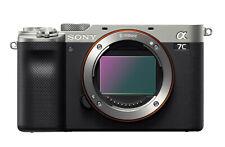 Sony Alpha 7c argento-Fotocamera digitale-NUOVO!