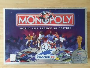 Monopoly World Cup France '98 Edition Board Game Complete. LOOK!!!