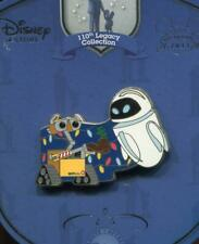 Disneystore.com 110th Legacy Collection Wall-E and Eve LE 250 Disney Pin 86152
