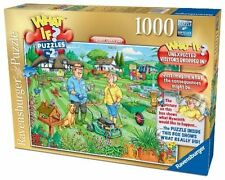 Ravensburger What If No. 2 - Open Day in The Garden 1000pc Jigsaw Puzzle