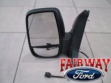 15 thru 18 Transit 150 250 350 OEM Ford Power w/o Heat Left DRIVER Mirror NEW