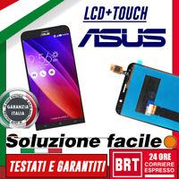 DISPLAY LCD+TOUCH SCREEN PER ASUS ZENFONE GO LTE ZB551KL X013D SCHERMO VETRO 24H