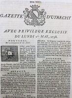 Île d'Aix en 1758 Charente Marienwerder Berlin Gibraltar Wezel Vienne Berlin